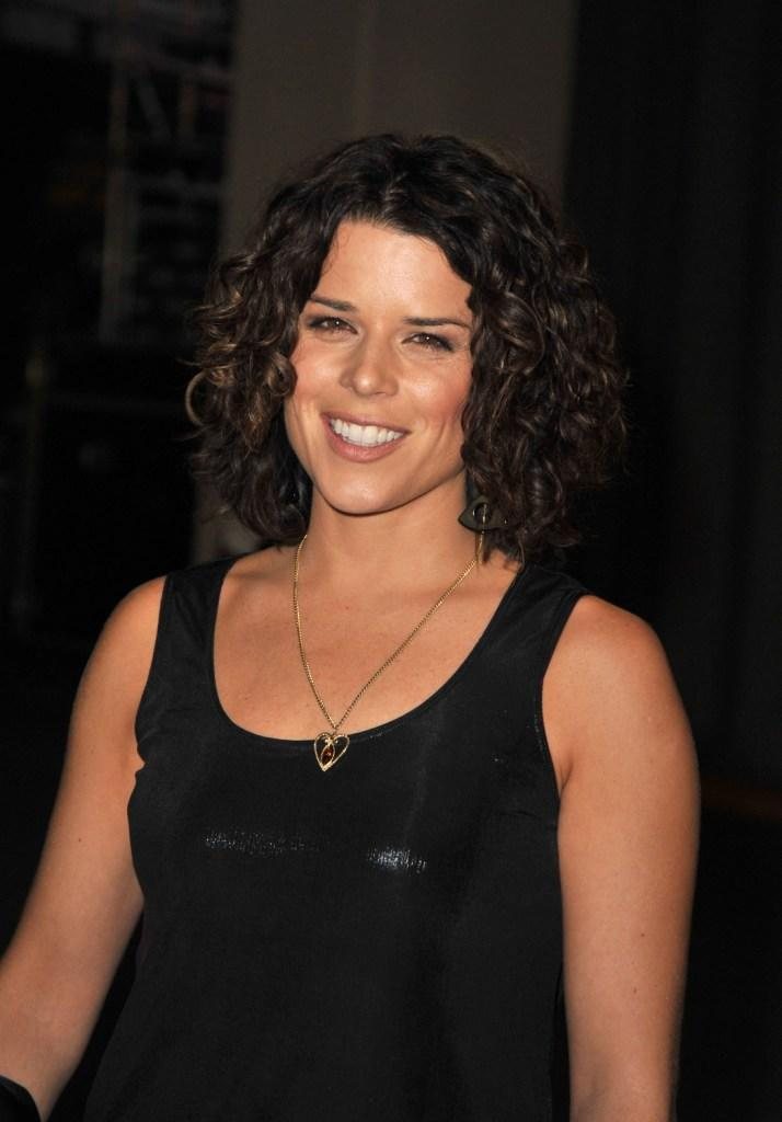 Neve Campbell at the Spike TV's 2008 Scream awards.