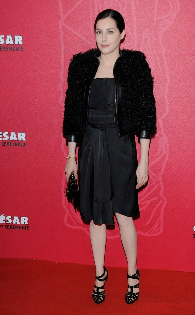 Amira Casar at the Cesar Film Awards 2009.