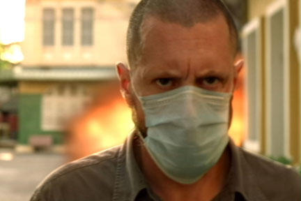 Jason Cottle as Shabal in ``Act of Valor.''