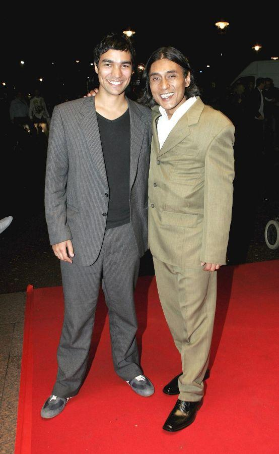 Chris Simpson and Ramon Tikaram at the Times BFI London Film Festival.