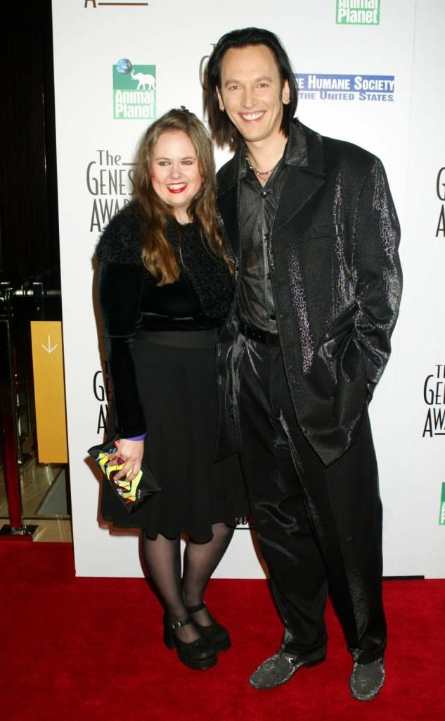 Shari and Steve Valentine at the 19th Annual Genesis Awards.