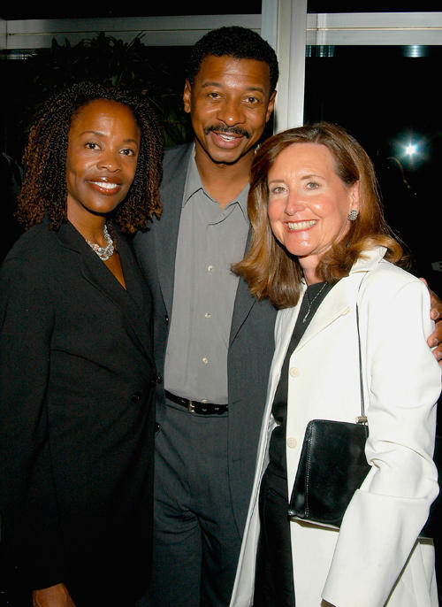 Charlayne Woodard, Robert Townsend and Helene Gordon at the Salon XII at the Taper: