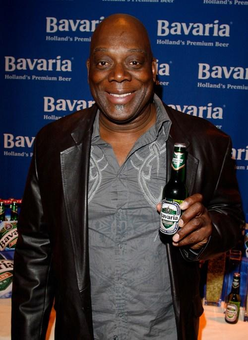 Thom Barry at the Bavaria Holland's Premium Beer display during the 67th Annual Golden Globe Awards.