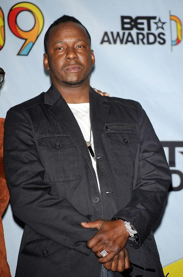 Bobby Brown at the 2009 BET Awards.