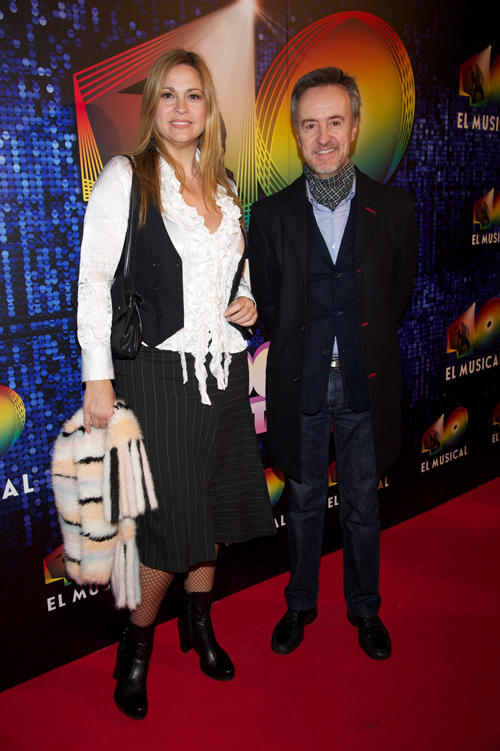 Loreto Valverde and Carlos Hipolito at the Spain premiere of
