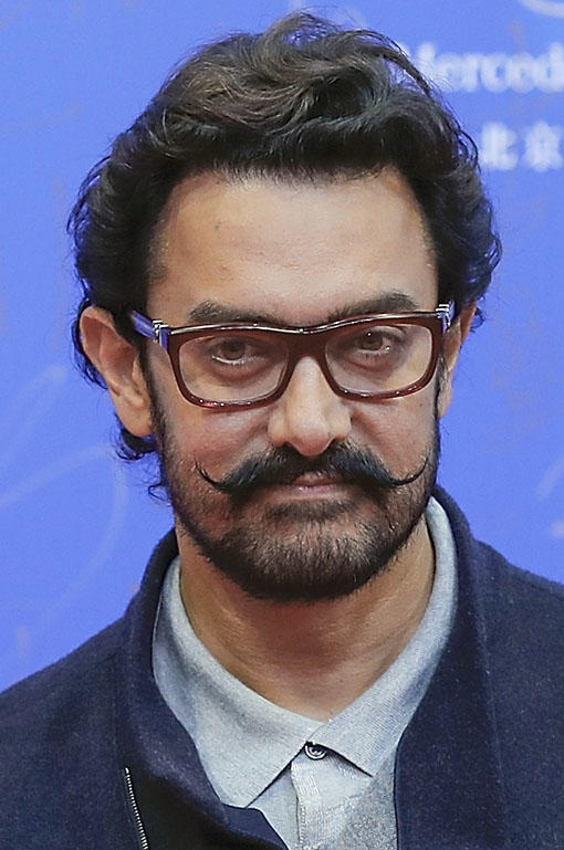 Aamir Khan at the 7th Beijing International Film Festival.
