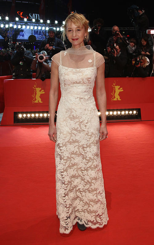 Susanne Lothar at the Award Winner photocall during the 61st Berlin International Film Festival.