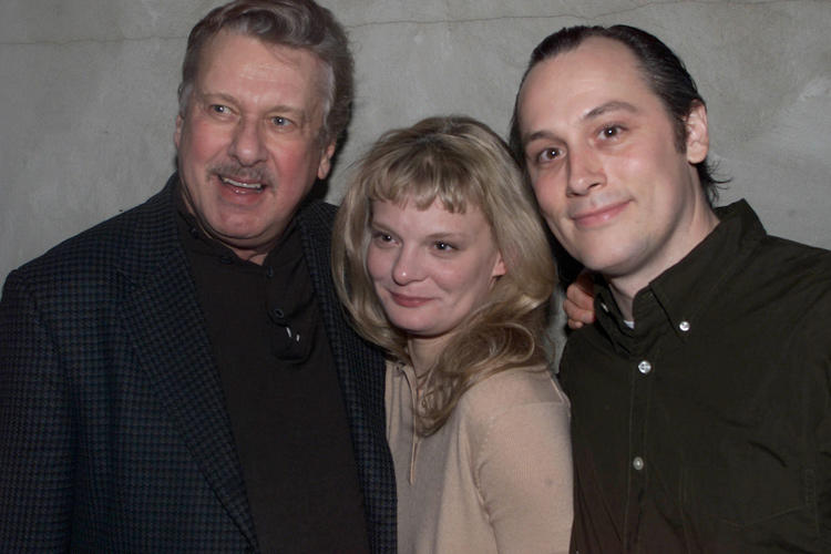 Brian Murray, Martha Plimpton and David Aaron Baker at the opening night of