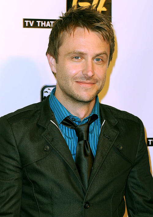 Chris Hardwick at the GPhoria Strikes Back Comic Con party in California.