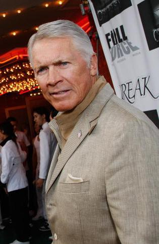 Chad Everett at the premiere of