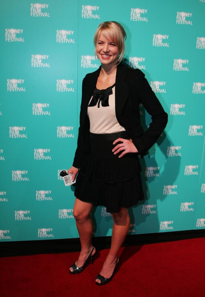 Jessica Napier at the opening gala night and premiere of