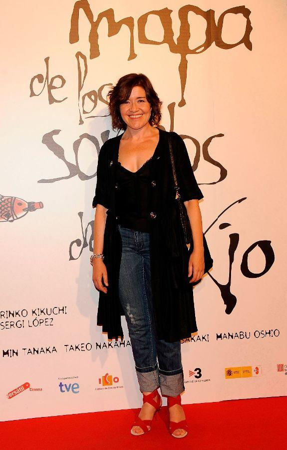 Maria Pujalte at the premiere of