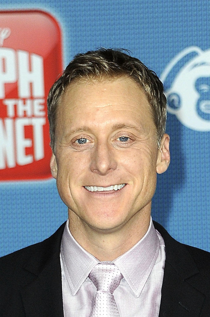 Alan Tudyk at the premiere of Disney's