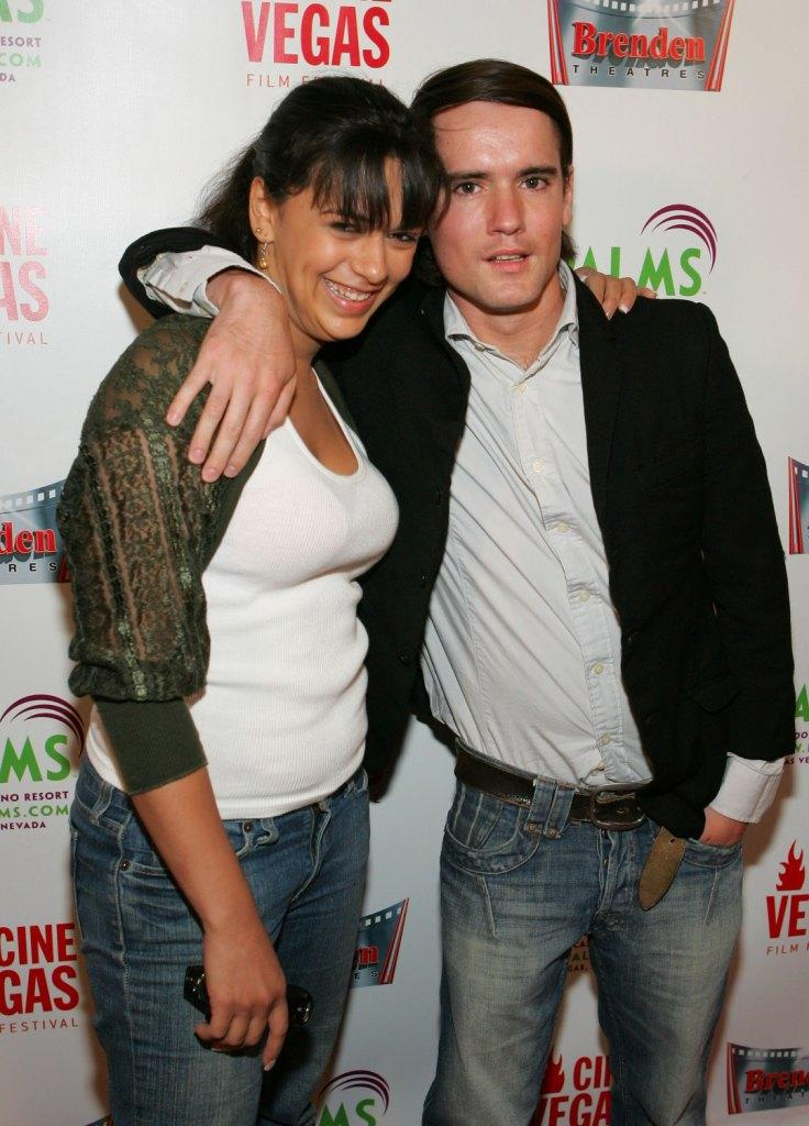 Isidra Vega and Pablo Hernandez at the CineVegas Film Festival.