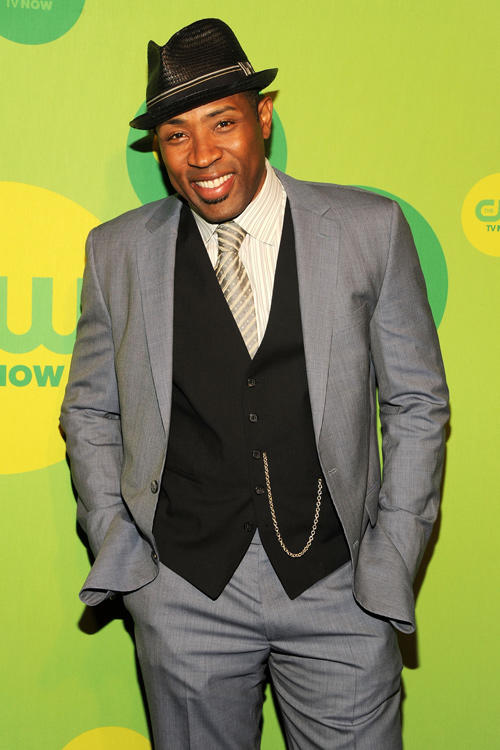 Cress Williams at the CW Network's New York 2013 Upfront Presentation.