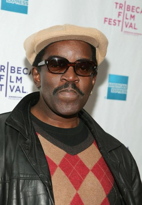 Fab 5 Freddy at the premiere of