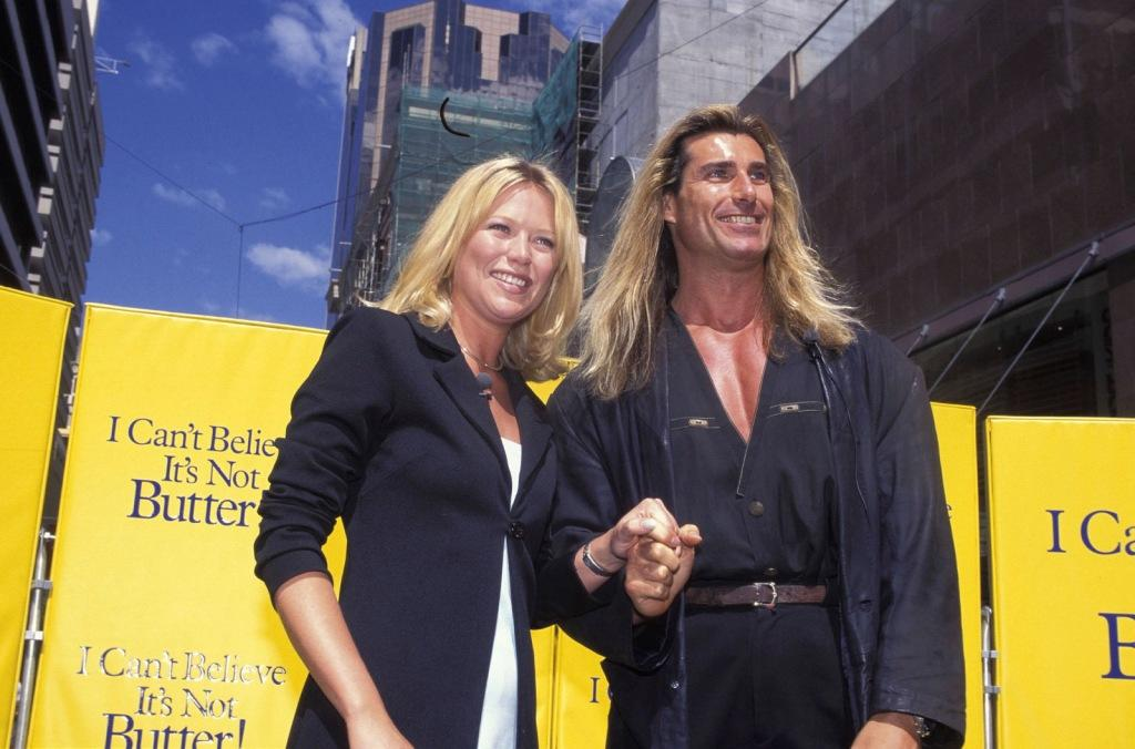 Jo Beth Taylor and Fabio at the Romance In Sydney.