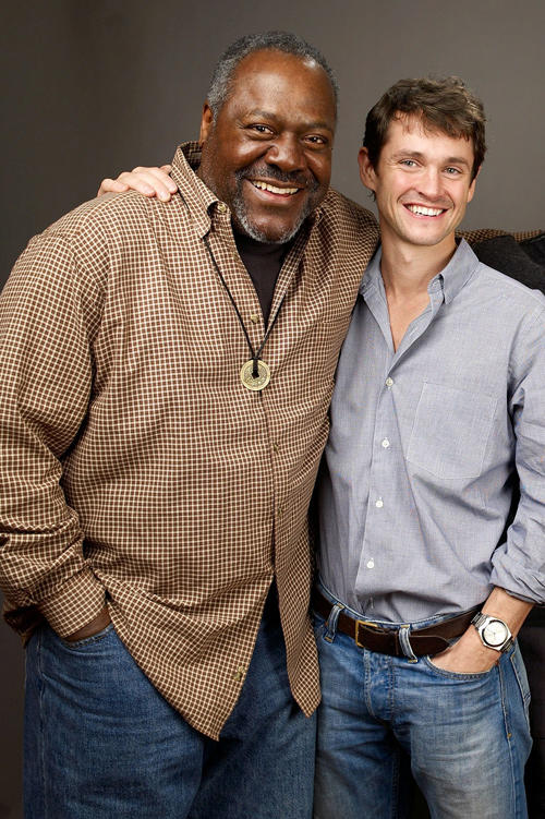 Frankie R. Faison and Hugh Dancy at the portrait session of