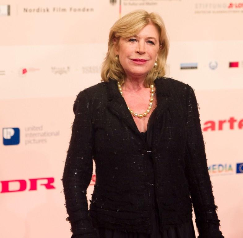 Marianne Faithfull at the European Film Awards.