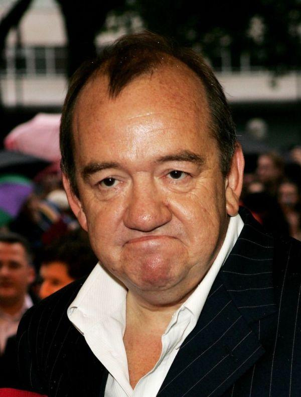 Mel Smith at the UK premiere of