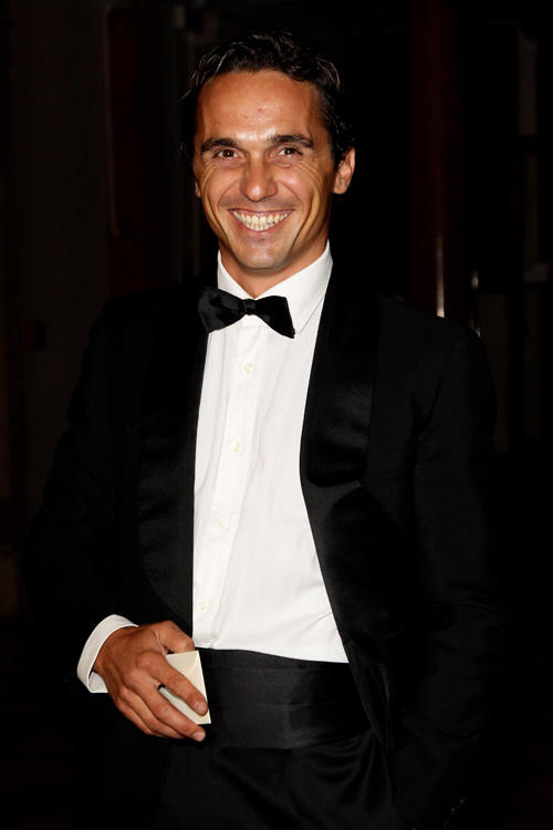 Piergiorgio Bellocchio at the dinner for Quentin Tarantino during the 67th Venice International Film Festival in Italy.