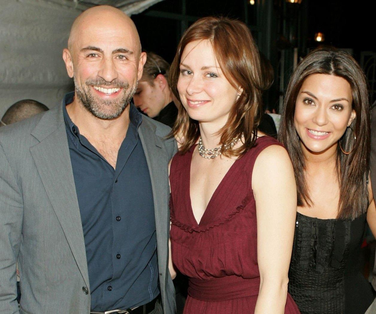 Carlo Rota, Mary Lynn Rajskub and Marisol Nichols at the Church of Scientology's Christmas Stories XIV