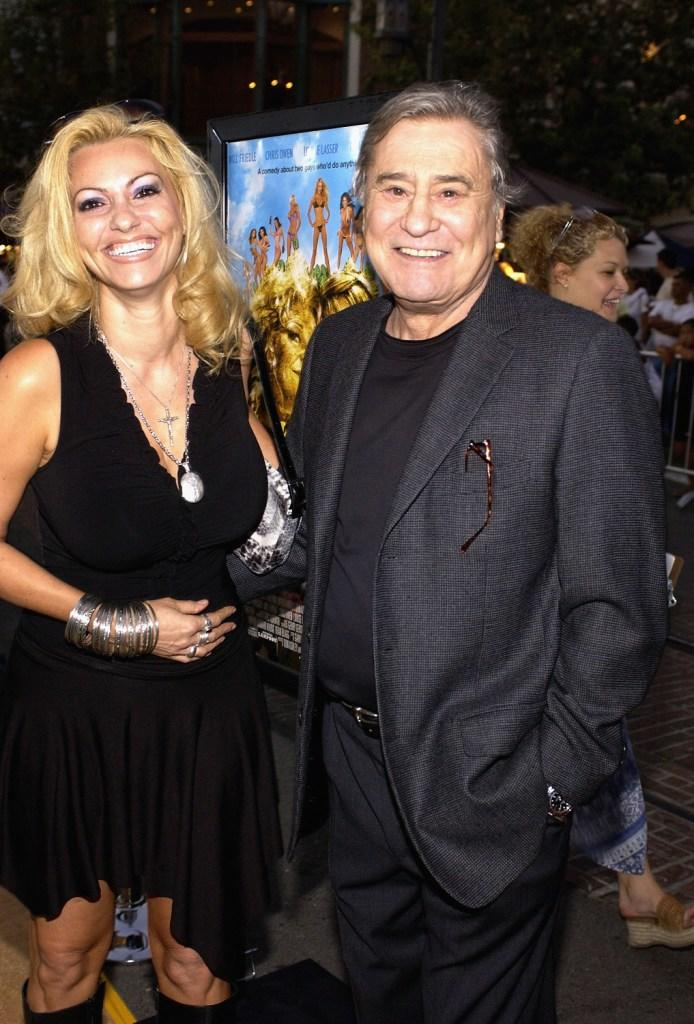 James Farentino and wife Stella at the premiere of National Lampoon's