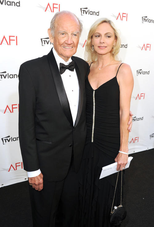 George McGovern and Guest at the 40th AFI Life Achievement Awards in California.