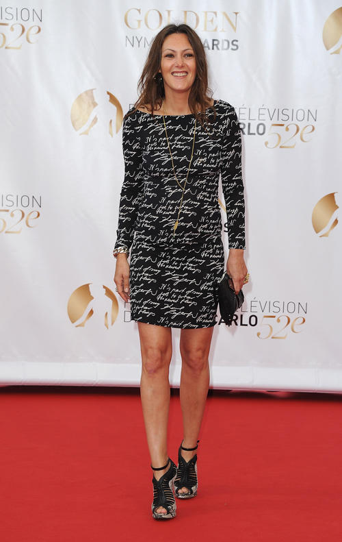 Karole Rocher at the Closing Ceremony of the 52nd Monte Carlo TV Festival.