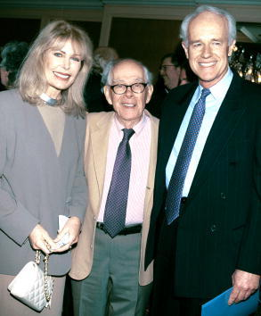 Loretta Swit, Harry Morgan and Mike Farrell at the Los Angeles chapter of Death Penalty Focus 10th Annual Awards.