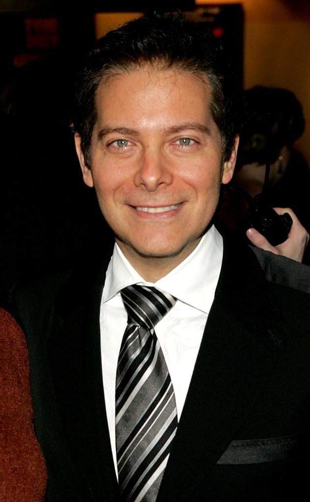 Michael Feinstein at the opening night play of