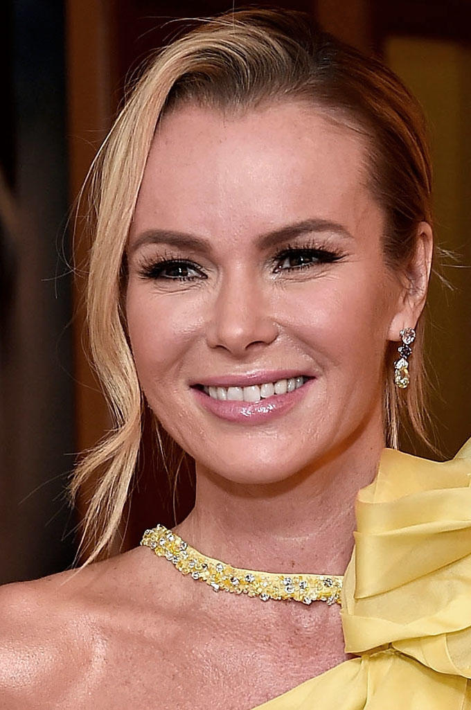 Amanda Holden at the Olivier Awards 2017 in London.