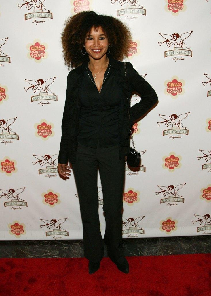 Mari Morrow at the opening night of