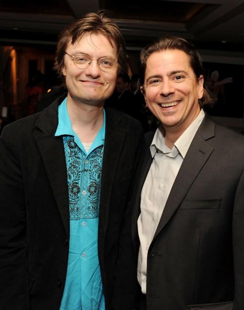 James Urbaniak and producer Craig Cohen at the 2010 Tribeca Film Festival.