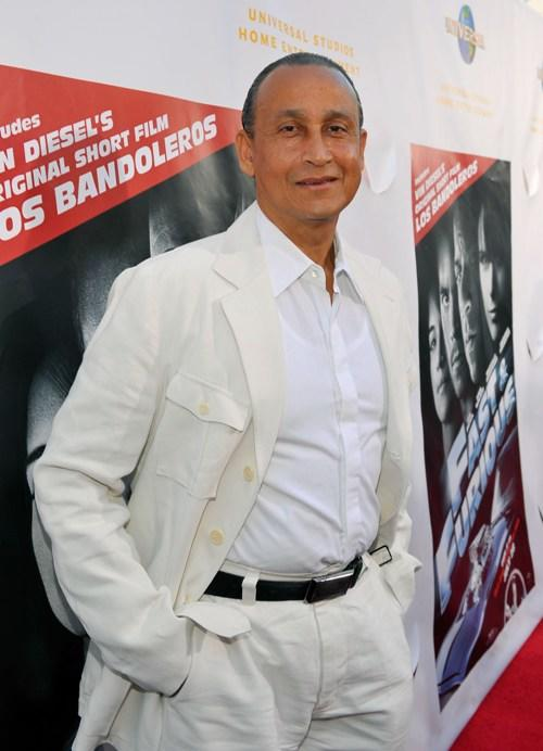 Juan Fernandez at the premiere of
