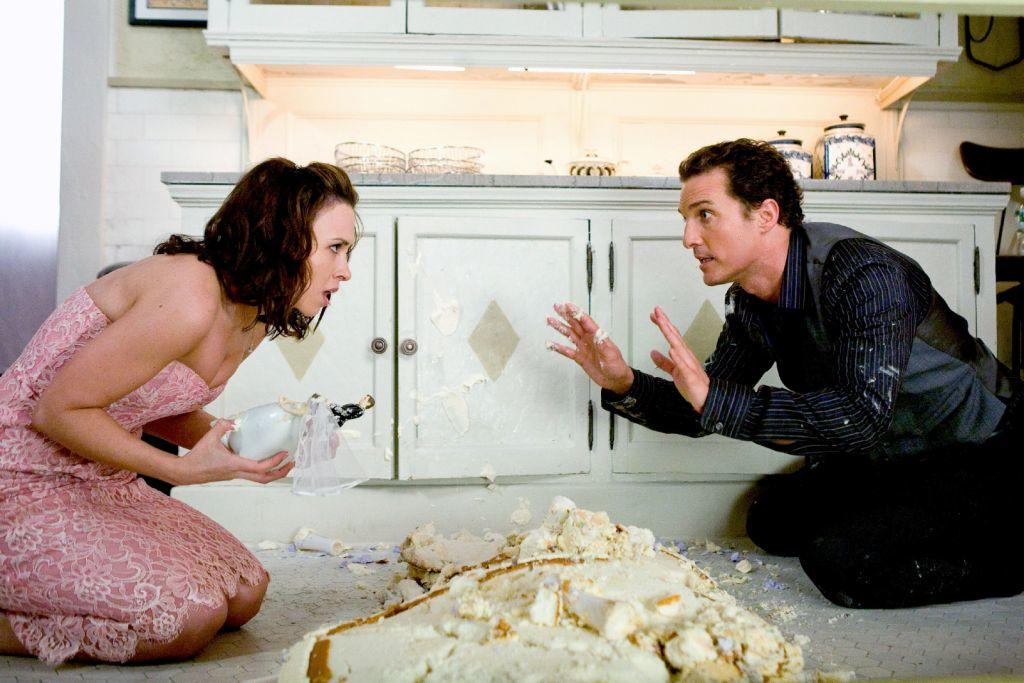 Lacey Chabert as Sandra and Matthew Mcconaughey as Connor Mead in