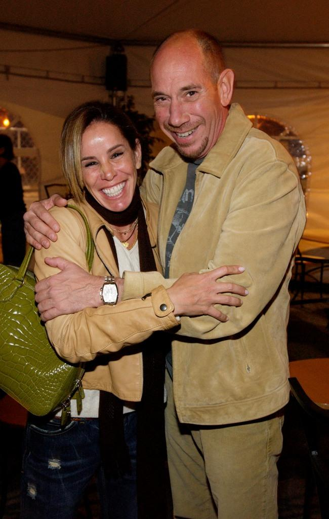 Melissa Rivers and Miguel Ferrer at the opening night of