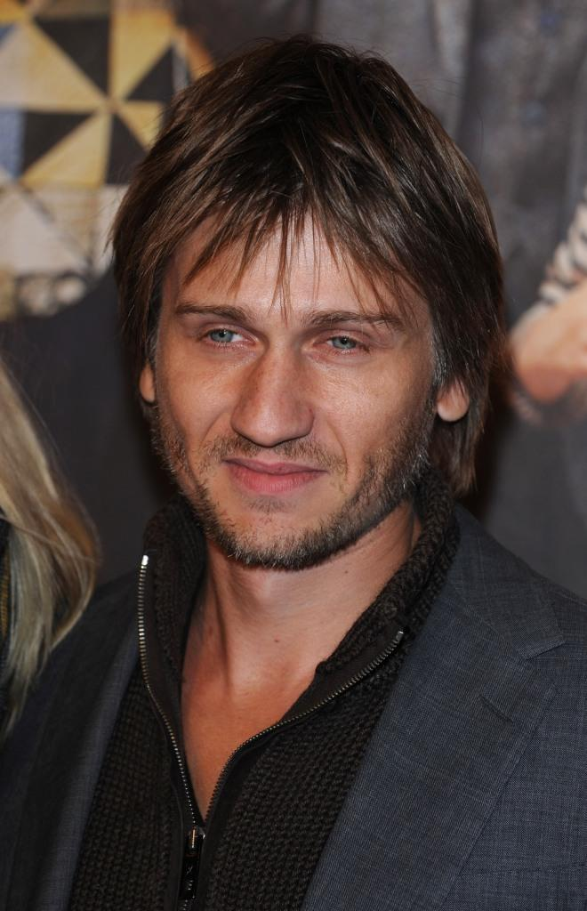 Stanislas Merhar at the premiere of