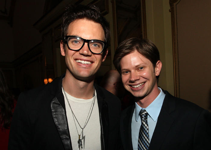 Tyler Hilton and Lee Norris at the