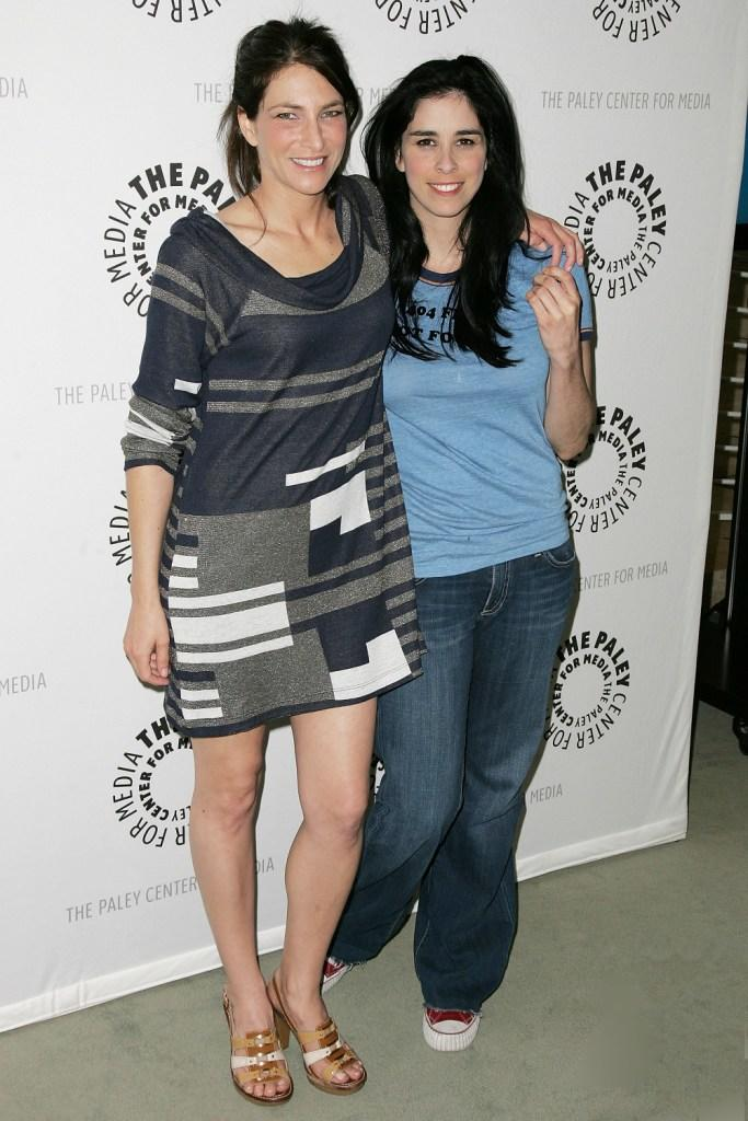 Laura Silverman and Sarah Silverman at the Sarah Silverman Program.