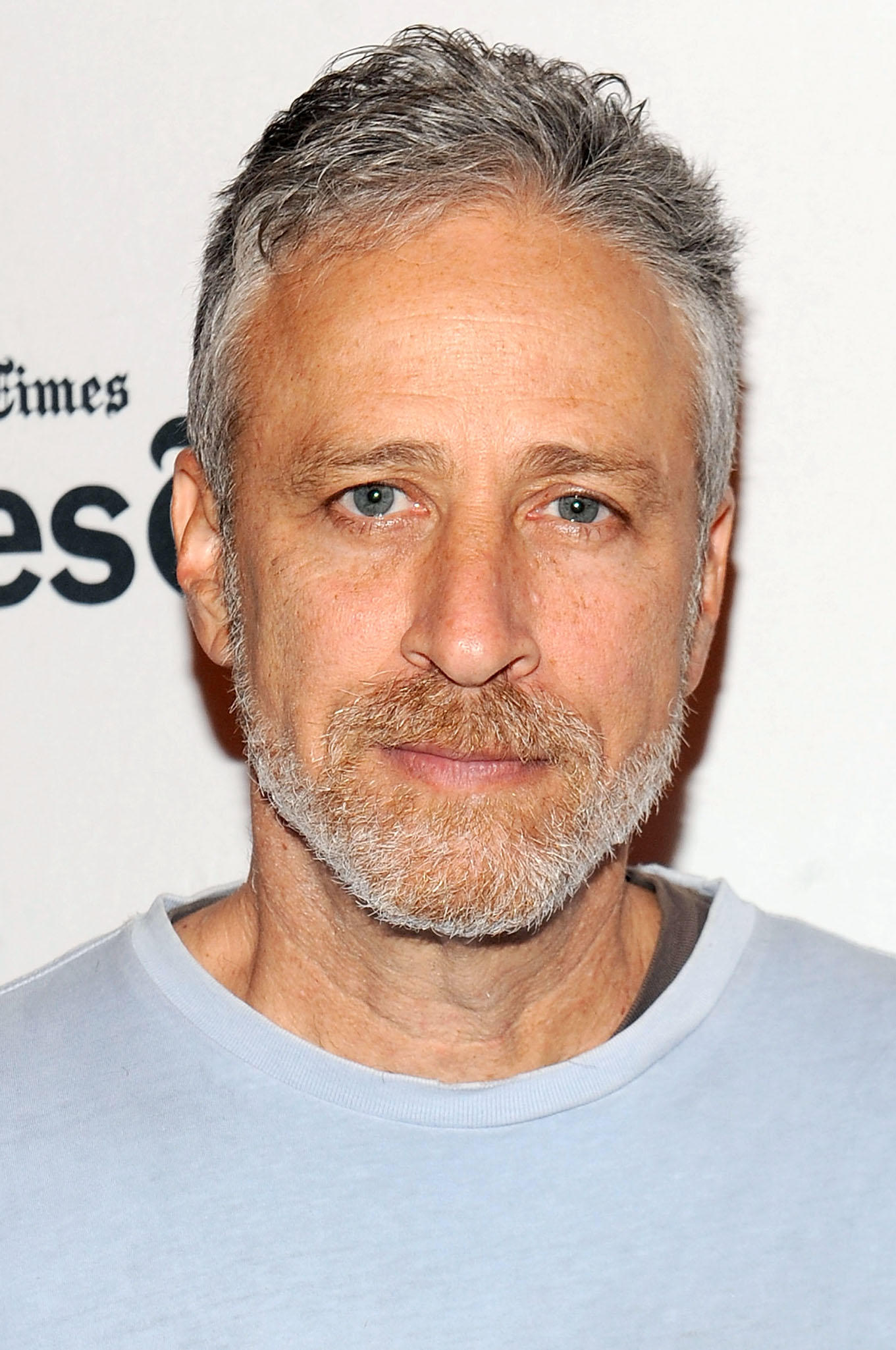 Jon Stewart at TimesTalks Featuring Jon Stewart & Chris Smith in New York City.