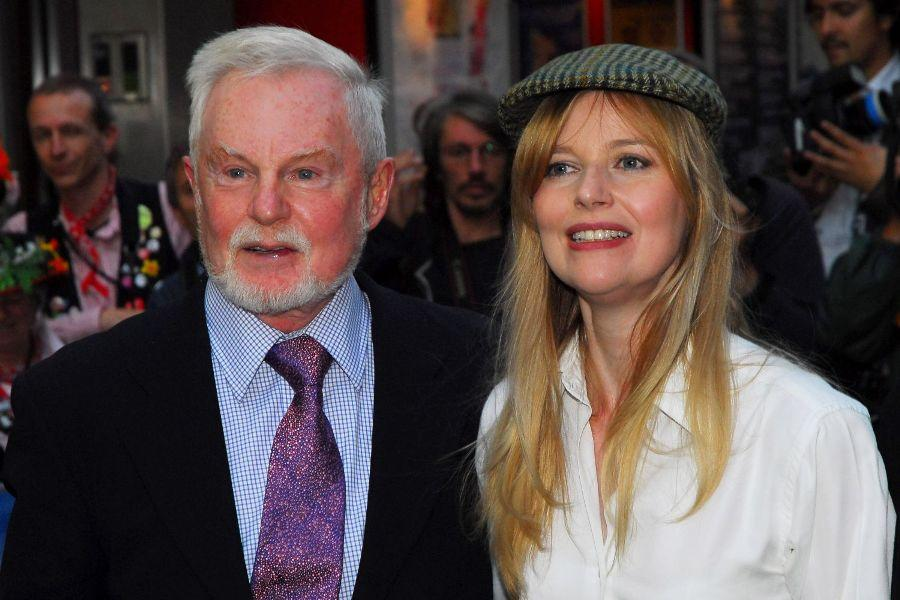 Derek Jacobi and Lucy Akhurst at the UK premiere of