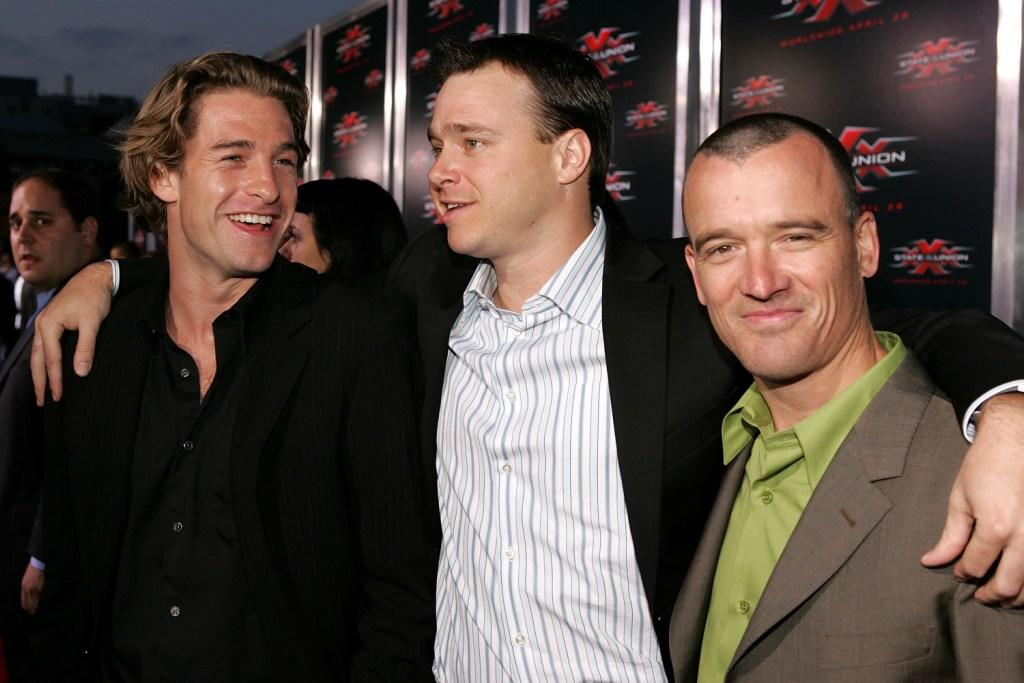 Scott Speedman, Michael Roof and John G. Connolly at the premiere of