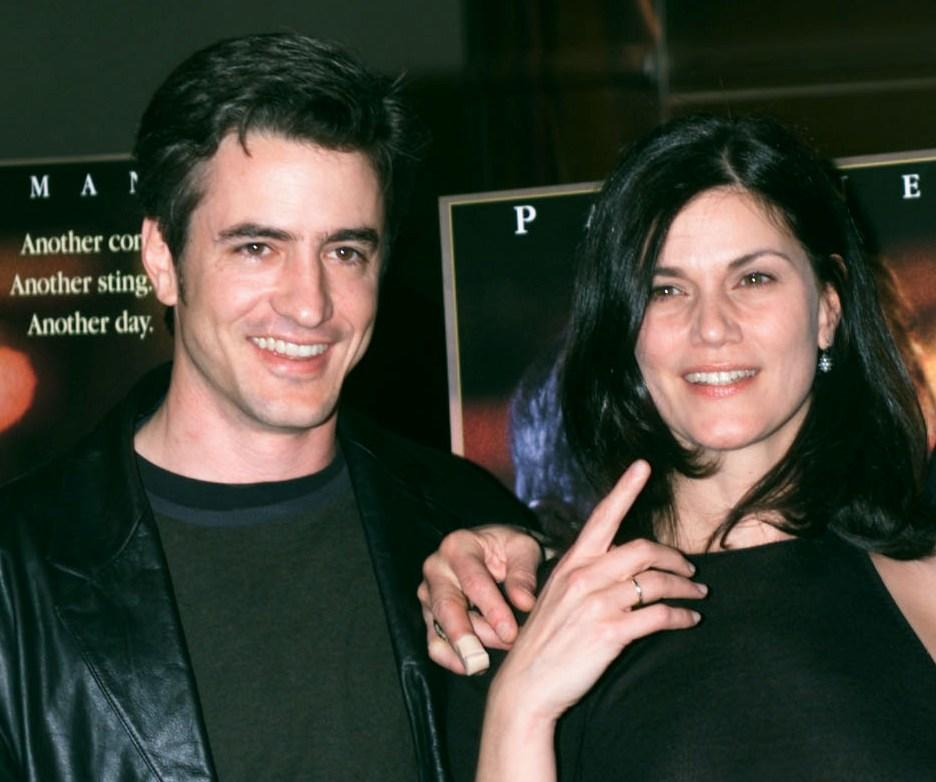 Dermot Mulroney and Linda Fiorentino at the screening of