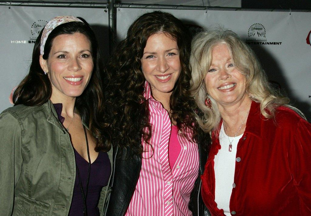 Tricia Leigh Fisher, Joely Fisher and Connie Stevens at the celebration of the DVD release of
