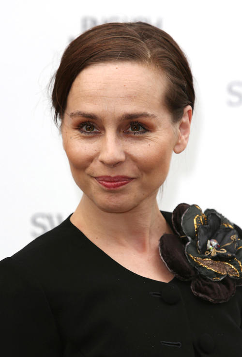 Tara Fitzgerald at the English National Ballet's summer party in London.