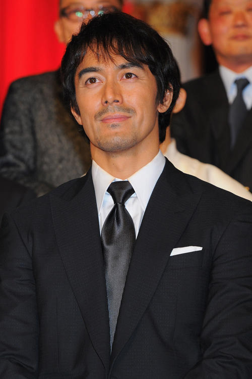 Hiroshi Abe at the 36th Japan Academy Awards.