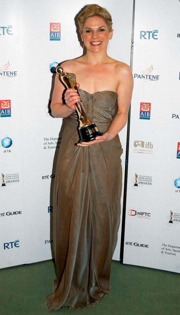 Eva Birthistle at the Irish Film & Television Awards 2007.