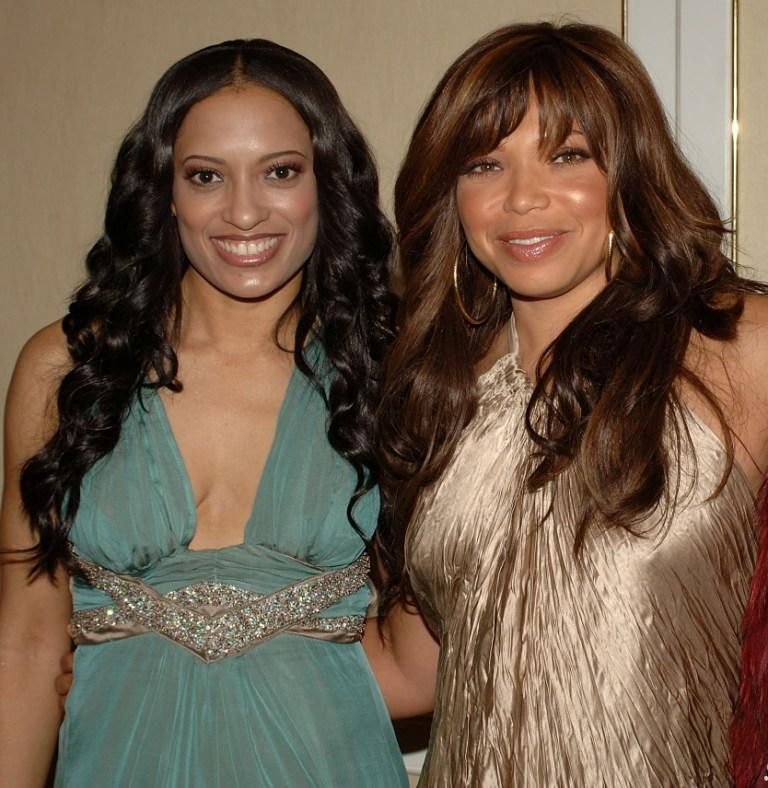 Melissa DeSousa and Tisha Campbell at the MMPA's 13th Annual Diversity Awards.