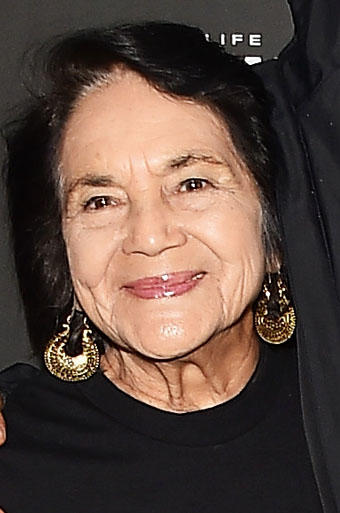 Dolores Huerta at the